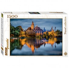 "Пазл ""Travel Collection. Замок у озера"", 1500 элементов, 85x58 см, 83050 Step Puzzle"